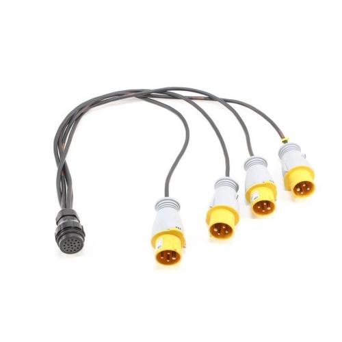 Socapex F-M Connector