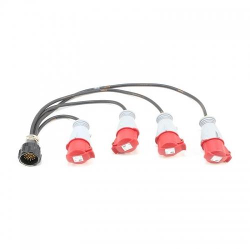 Socapex M-F Connector